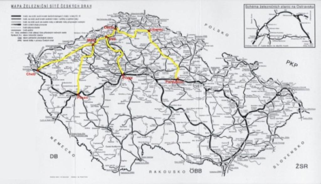 Structuralia  Se liberan 5 rutas de viajeros en Repblica Checa