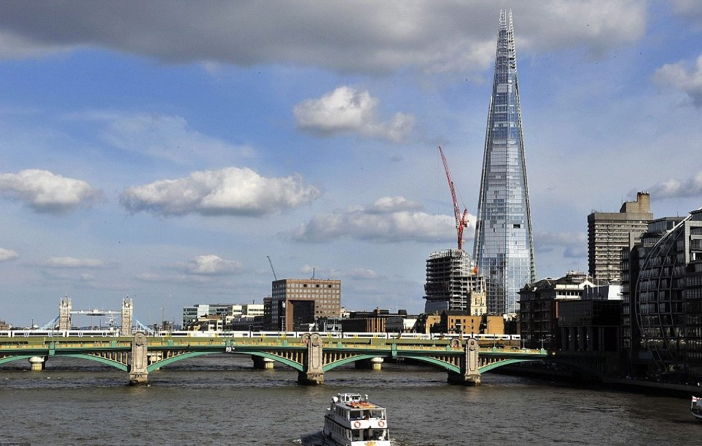 el rascacielos the shard el edificio ms alto de reino unido