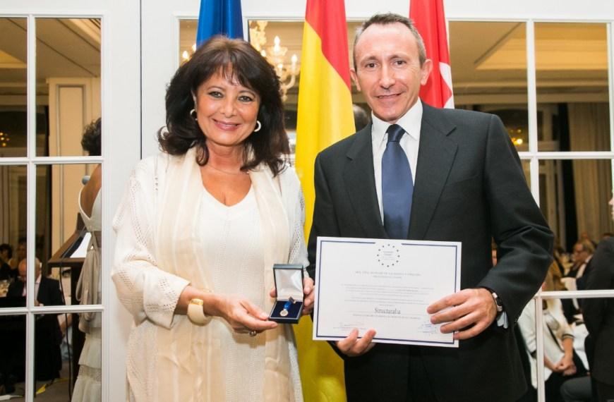 Structuralia recibe la Medalla de Oro Europea al Mérito en el Trabajo